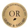 Médaille d'or au concours Gilbert & Gaillard